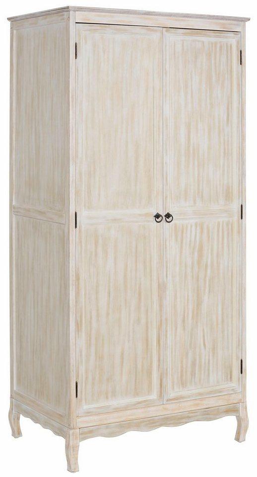 Home affaire Garderobenschrank »Pienza«, 90 cm breit in weiß-natur