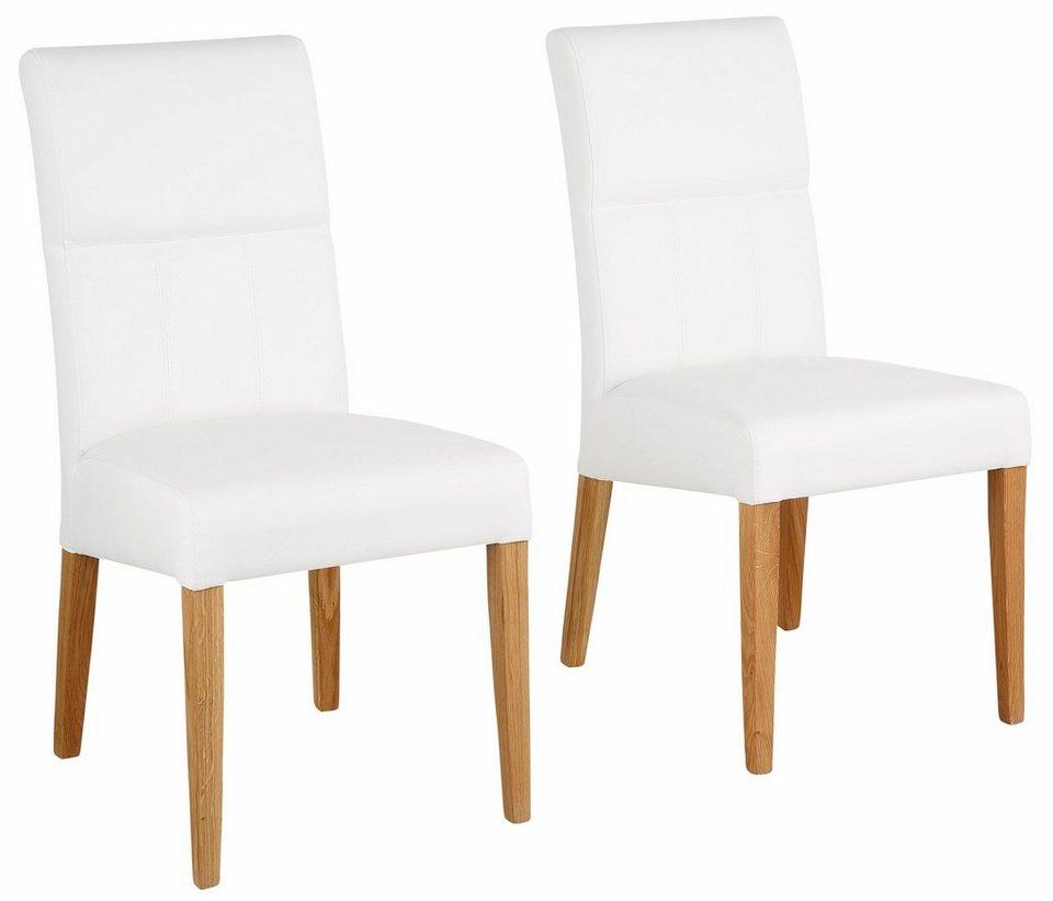 Home Affaire Stühle Freda Wahlweise Mit Kunstleder Oder Echtleder