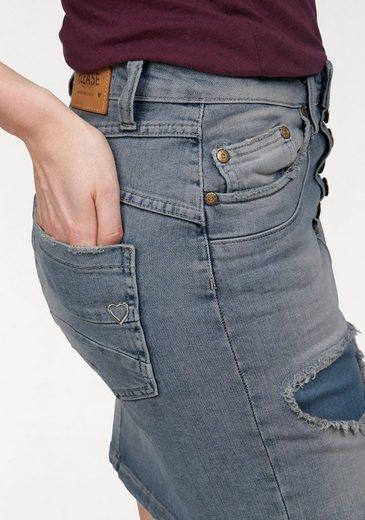 Please Jeans Jeansrock, mit Destroyed-Effekten