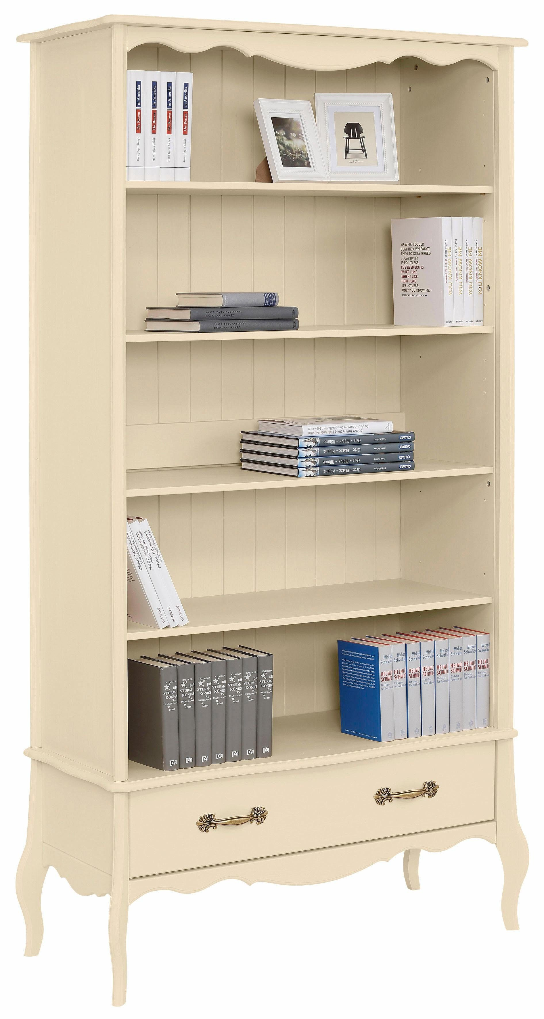 Home affaire Bücherregal »Lebo«, mit Softclose, Breite: 108 cm