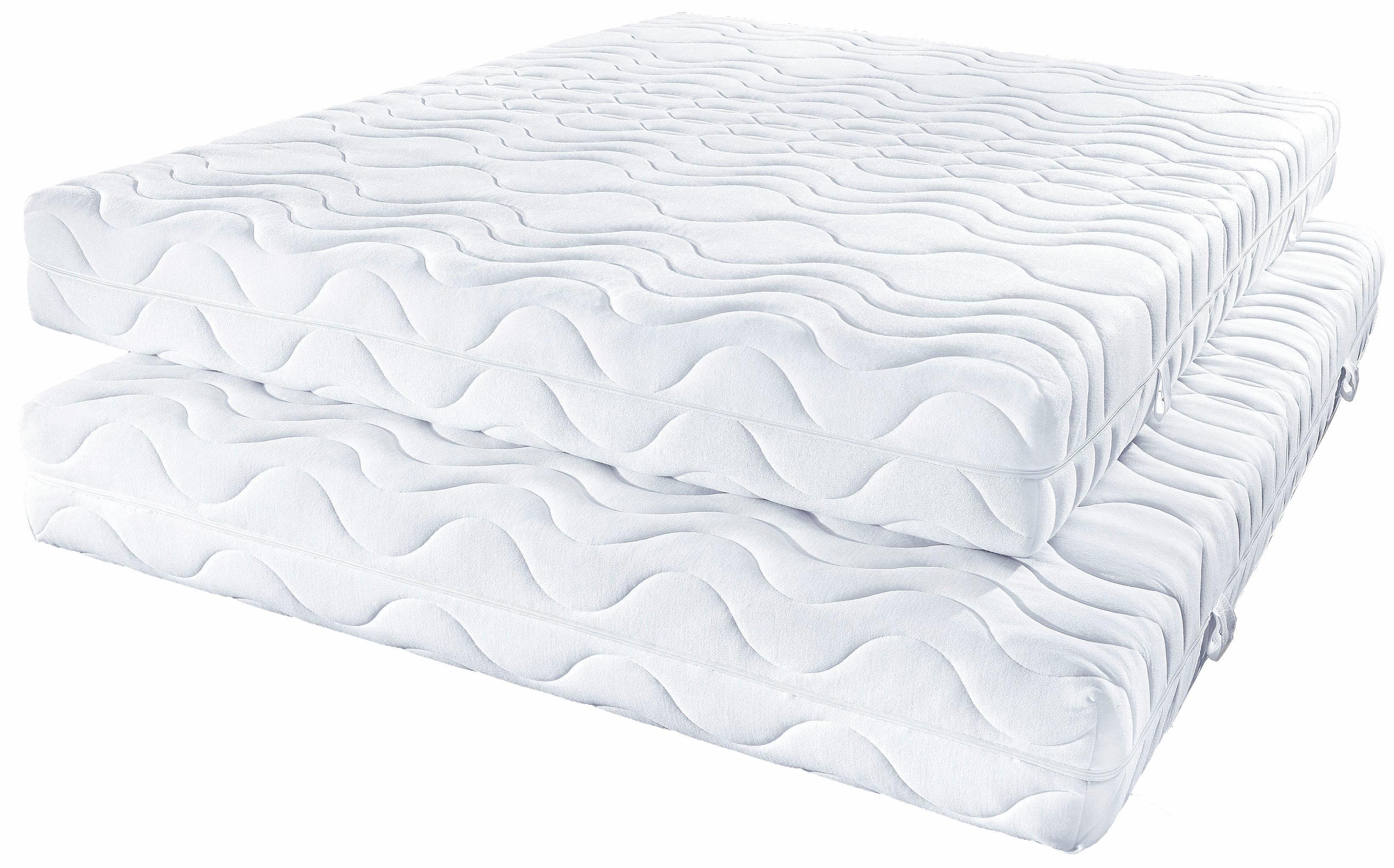 Komfortschaummatratze »Frottee KS«, Beco, 16 cm hoch, Raumgewicht: 28, (1-tlg), elastisch, universell und bequemes Handling | Schlafzimmer > Matratzen > Kaltschaum-matratzen | Beco