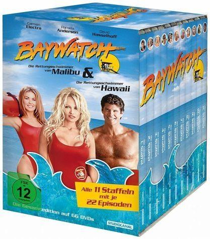 DVD »Baywatch - Die Rettungsschwimmer von Malibu...«