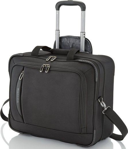 travelite Business-Trolley »Crosslite Schwarz«  2 Rollen