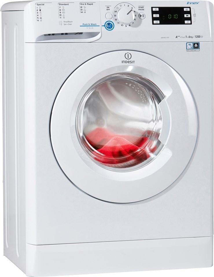 Indesit Waschmaschine Xwsne 61253 W Eu 6 Kg 1200 U Min Online