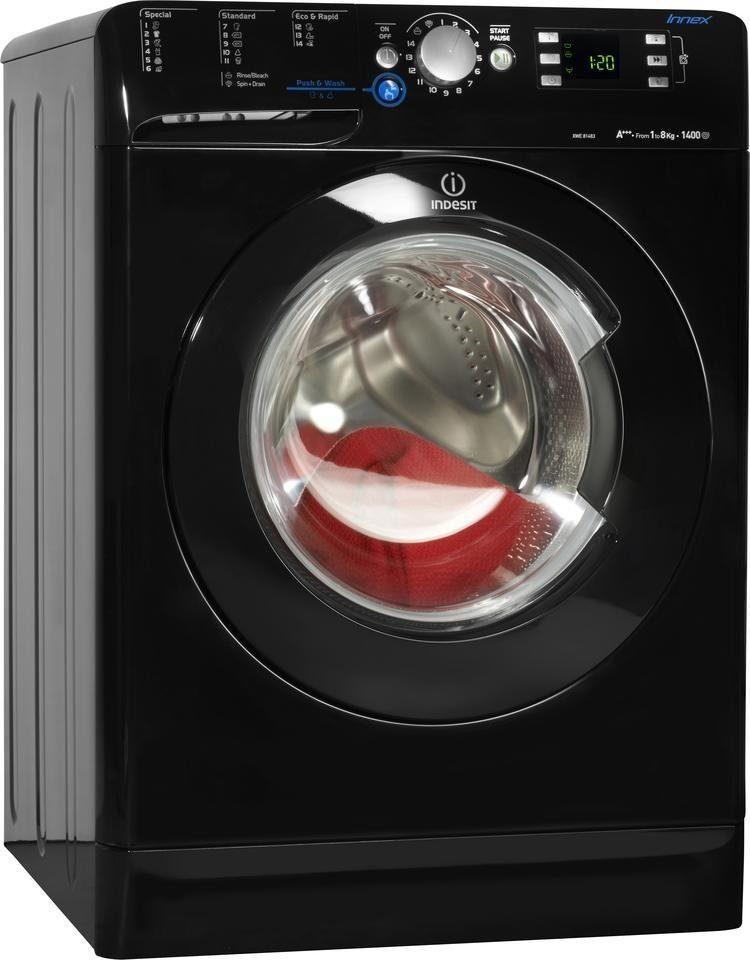Indesit Waschmaschine XWE 81483X K EU, A+++, 8 kg, 1400 U/Min