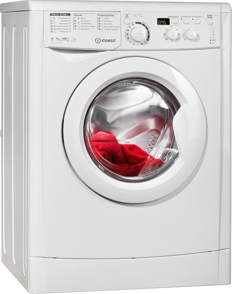 Indesit Waschtrockner Ewdd7145w 7 Kg 5 Kg 1400 U Min Online Kaufen