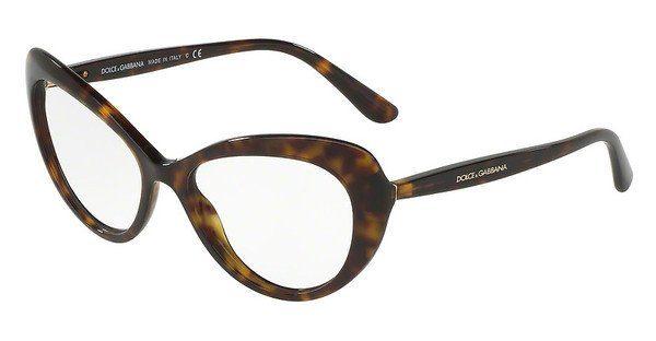 DOLCE & GABBANA Dolce & Gabbana Damen Brille » DG3286«, braun, 502 - braun