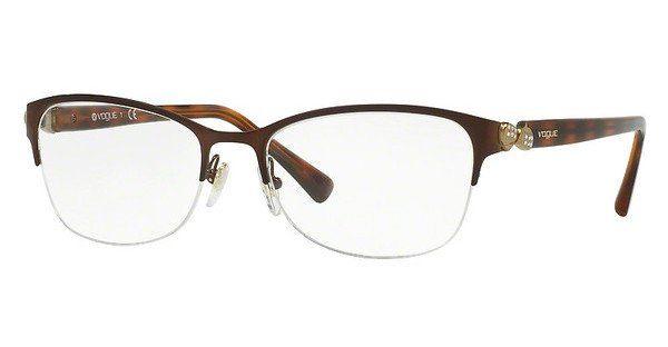VOGUE Vogue Damen Brille » VO4027B«, schwarz, 352 - schwarz