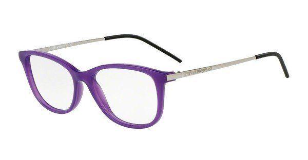 Emporio Armani Damen Brille » EA3102«, lila, 5564 - lila
