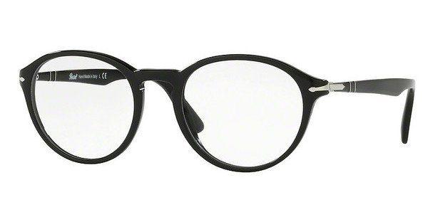 PERSOL Persol Herren Brille » PO3187V«, braun, 24 - braun