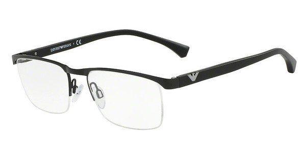Emporio Armani Herren Brille » EA1075«, schwarz, 3001 - schwarz