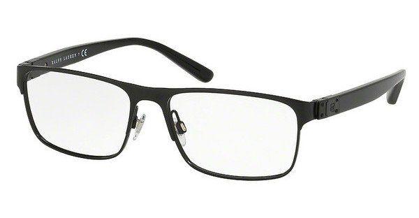Ralph Lauren Herren Brille » RL5100«, schwarz, 9003 - schwarz