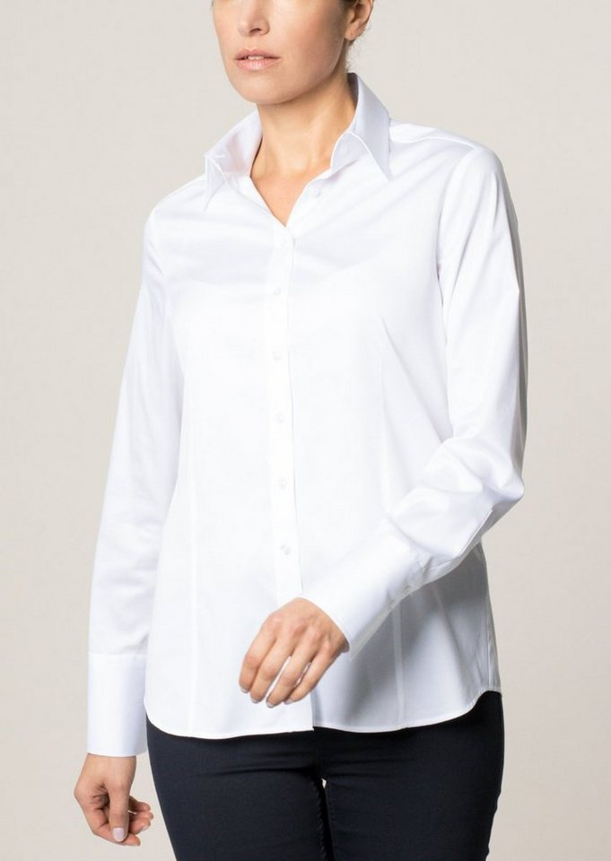 ETERNA 1/1-Arm Bluse »COMFORT FIT« in weiß