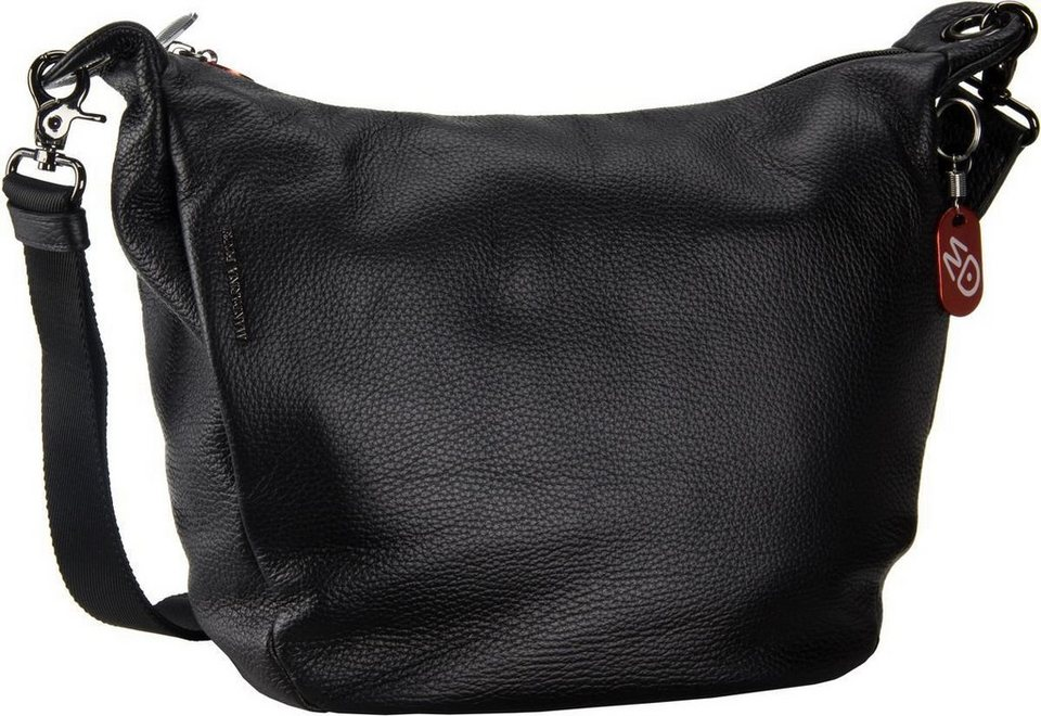 Mandarina Duck Mellow Leather Crossbody in Black