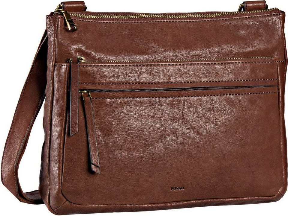 Fossil Corey Large Crossbody in Brown