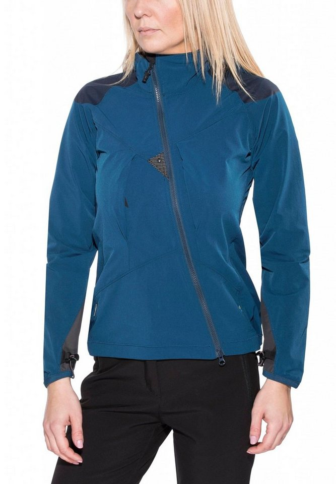 Klättermusen Softshelljacke »Frode Jacket Women« in blau