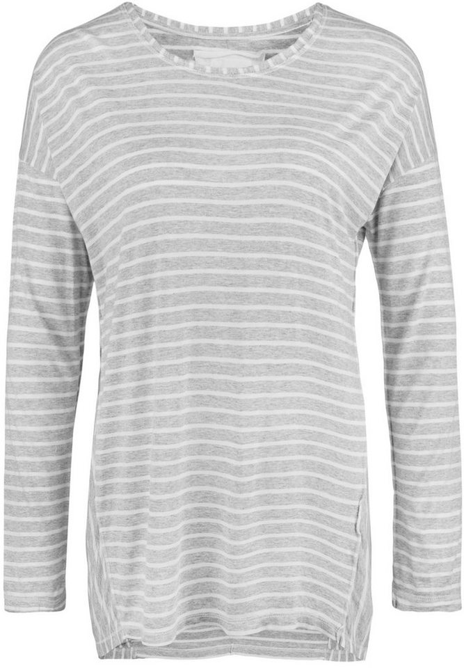 Better Rich Longsleeve »COOL LS STRIPE« in grey/white fine