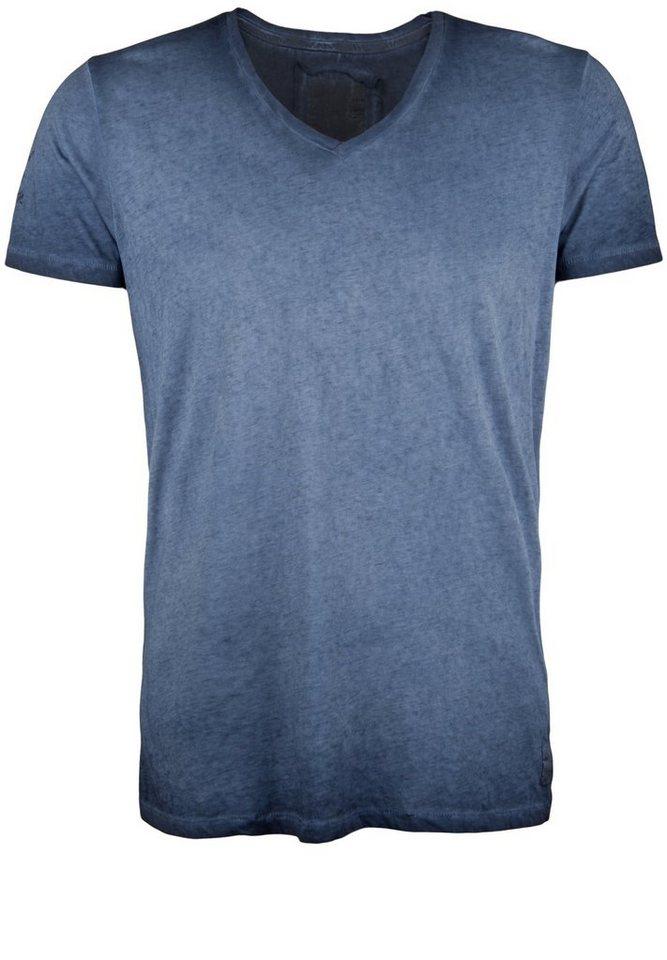 Better Rich T-Shirt »V-NECK CLUB« in parisian blue