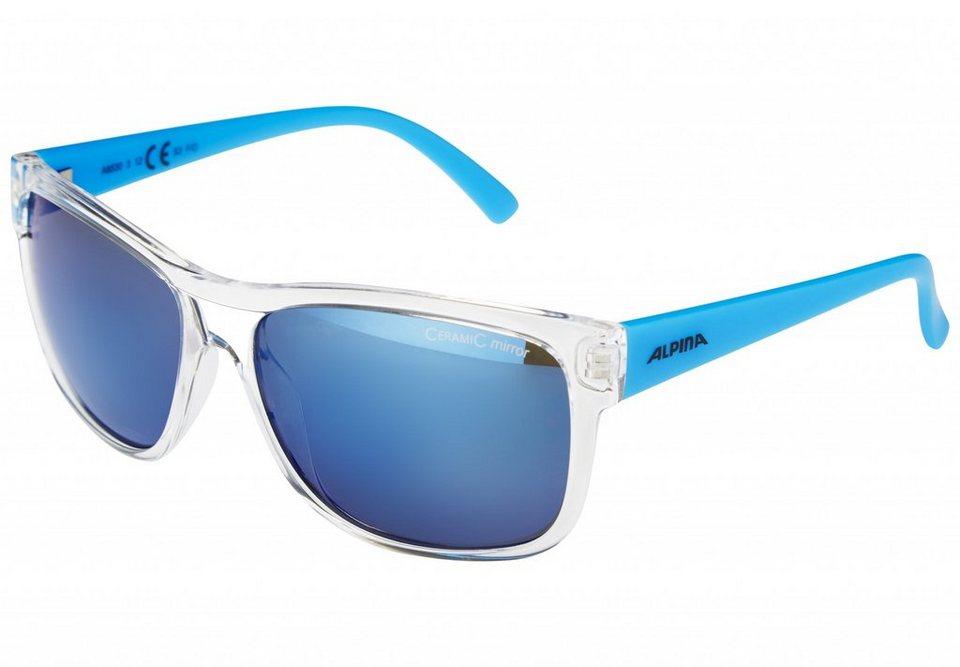Alpina Radsportbrille »Heiny« in blau