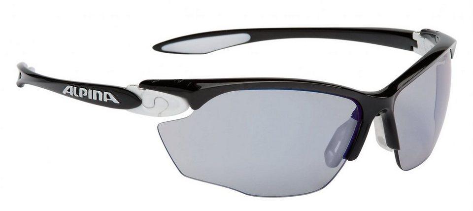 Alpina Radsportbrille »Twist Four VLM+« in schwarz