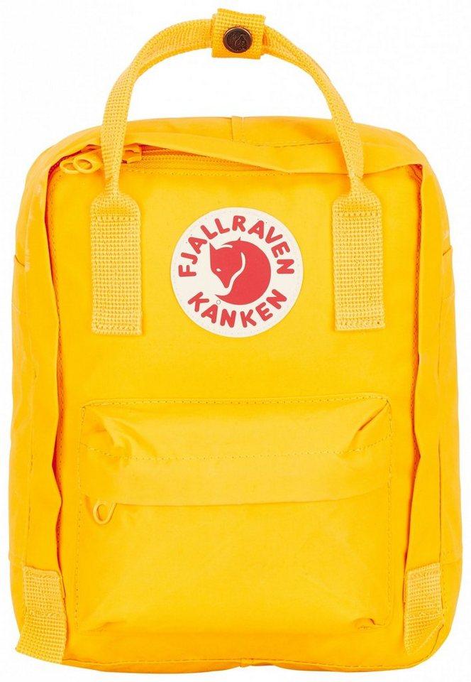 FJÄLLRÄVEN Sport- und Freizeittasche »Kanken Backpack Kids« in gelb