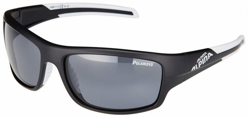 Alpina Radsportbrille »Testido P« in schwarz