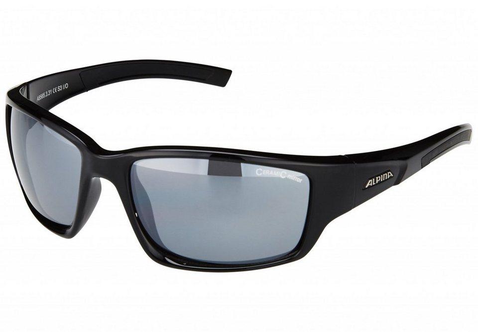 Alpina Radsportbrille »Keekor« in schwarz