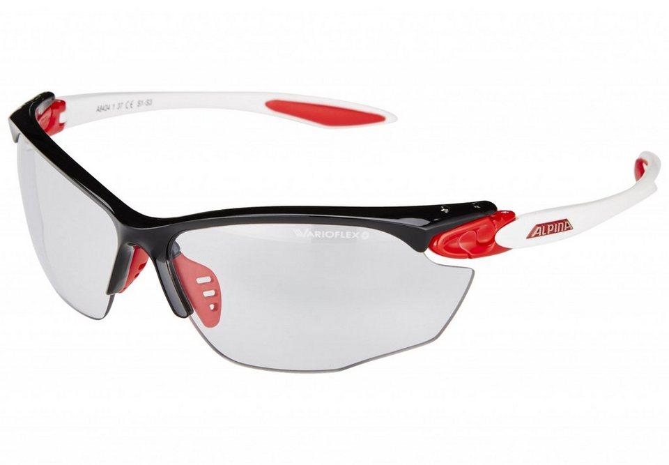 Alpina Radsportbrille »Twist Four VL+« in weiß