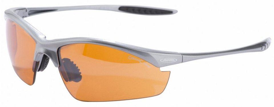 Alpina Radsportbrille »Tri-Effect« in grau