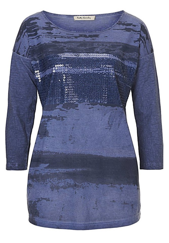 Betty Barclay Shirt in mittelblau - Blau