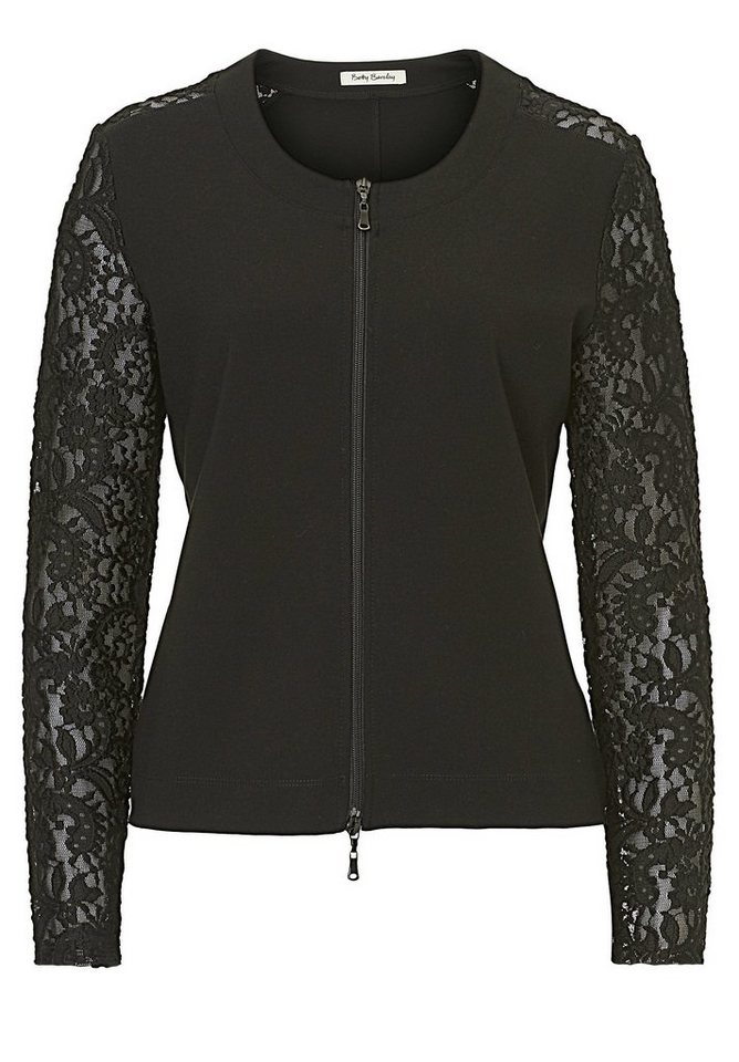 Betty Barclay Shirtjacke in Schwarz - Bunt