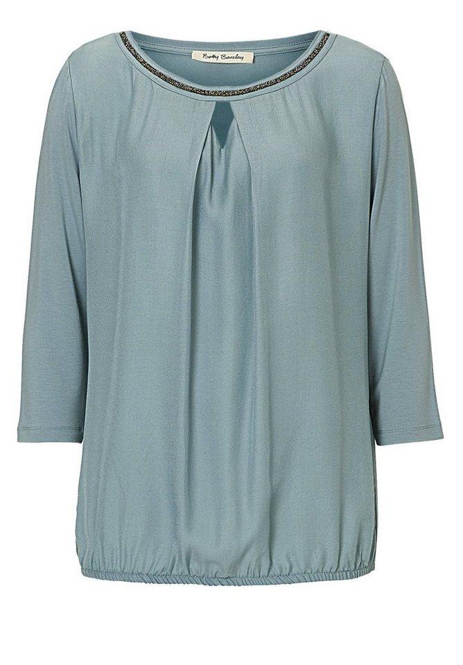 Betty Barclay Shirt in rauchblau - Blau