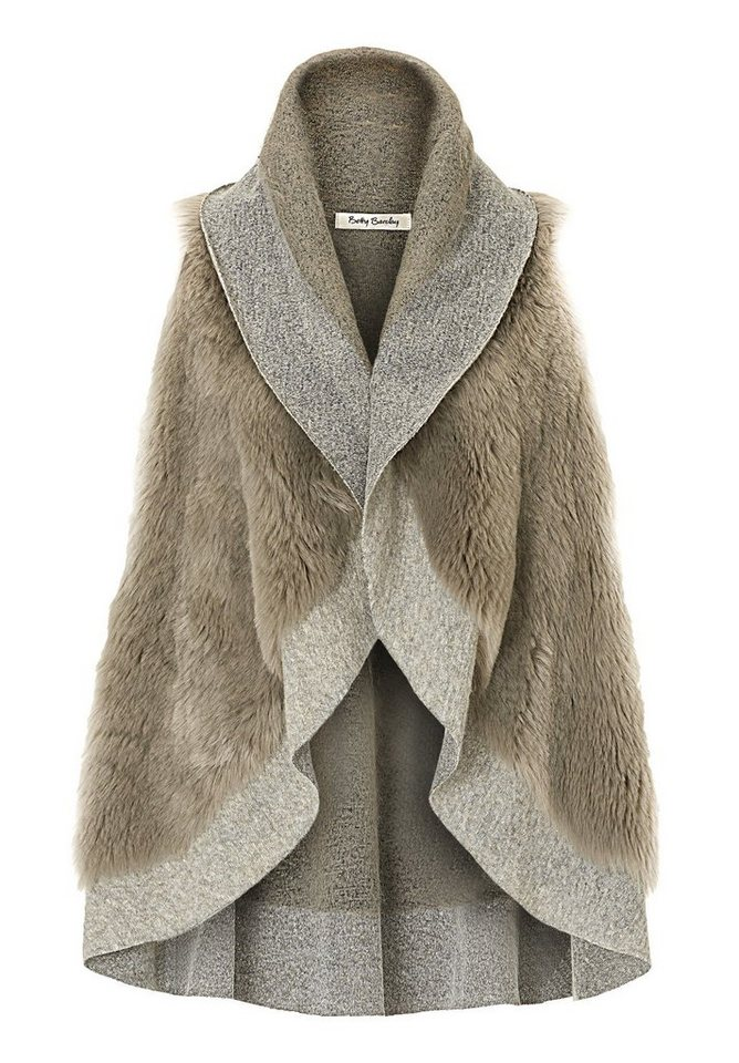 Betty Barclay Weste in Taupe/Taupe - Braun