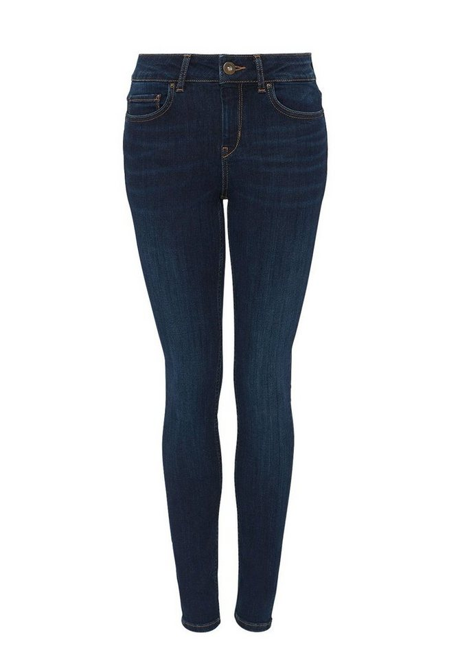 HALLHUBER Skinny-Jeans in dark blue denim
