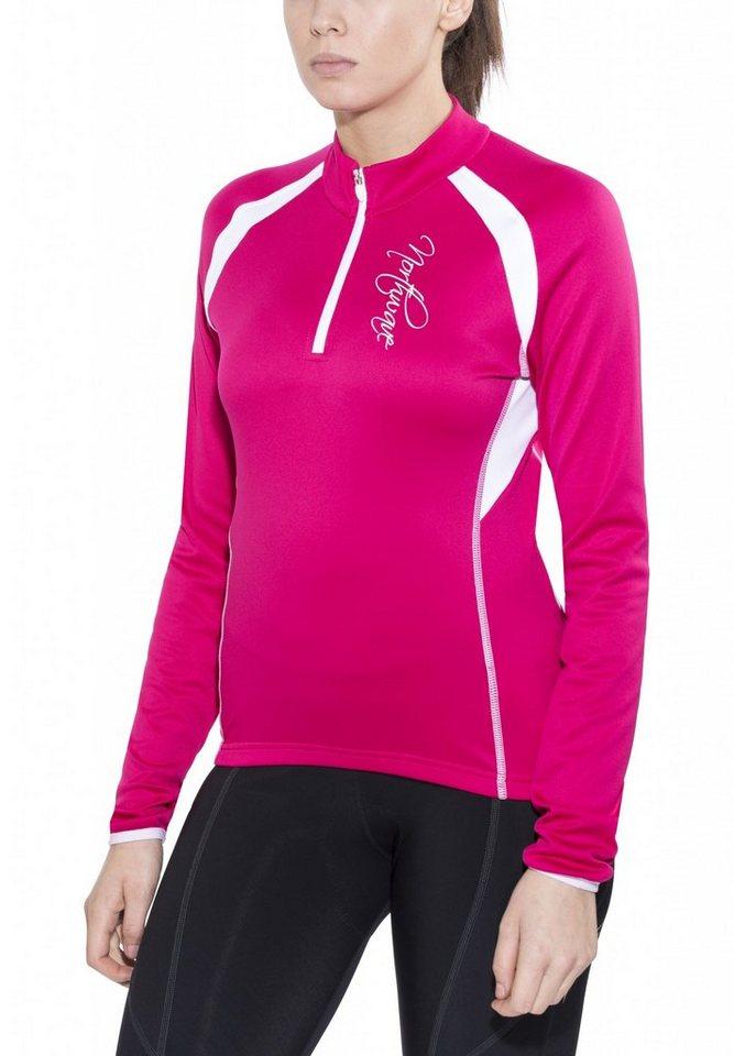 Northwave Radtrikot »Crystal LS Jersey Women« in pink