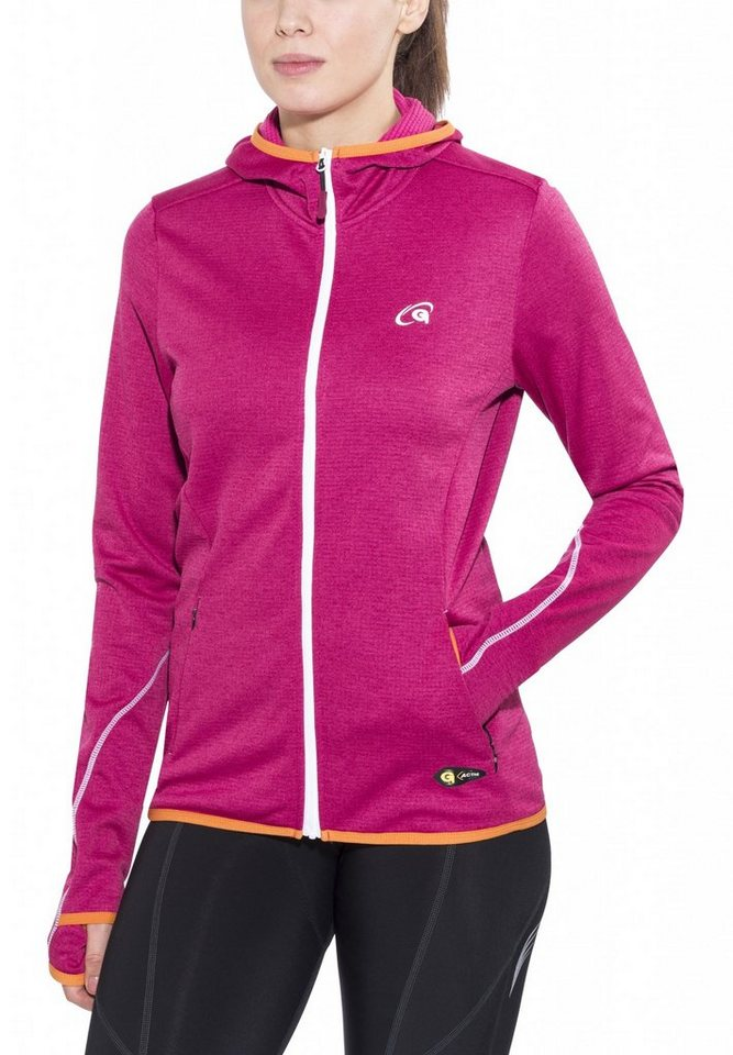Gonso Pullover »Berry Hoodie Damen« in pink