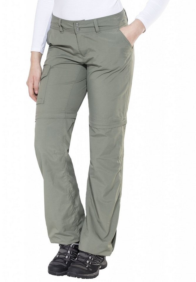 Columbia Outdoorhose »Silver Ridge Convertible Pant Women Long« in oliv