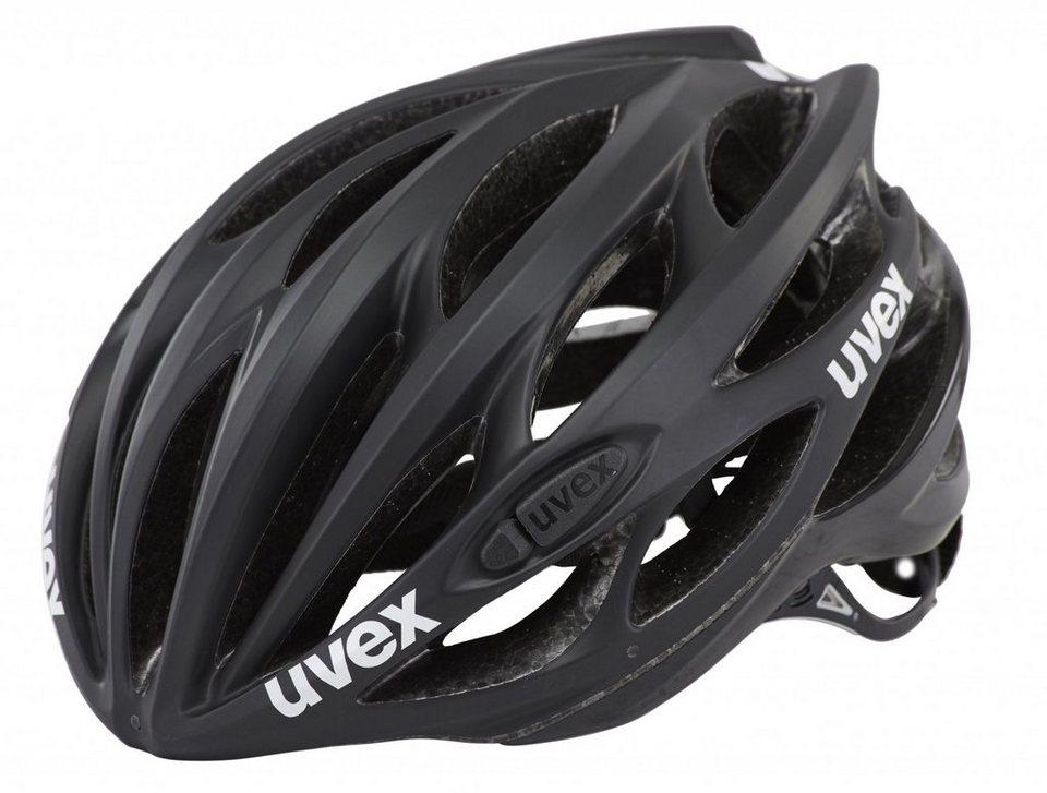 UVEX Fahrradhelm »race 1 Helmet« in schwarz