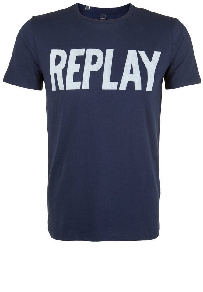 replay t shirt replay online kaufen otto. Black Bedroom Furniture Sets. Home Design Ideas