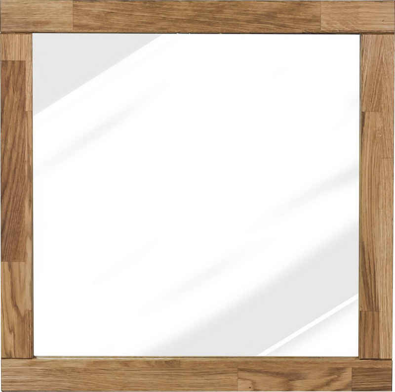 Home affaire Wandspiegel »Faleria«, aus Eiche massiv, Breite 60 cm