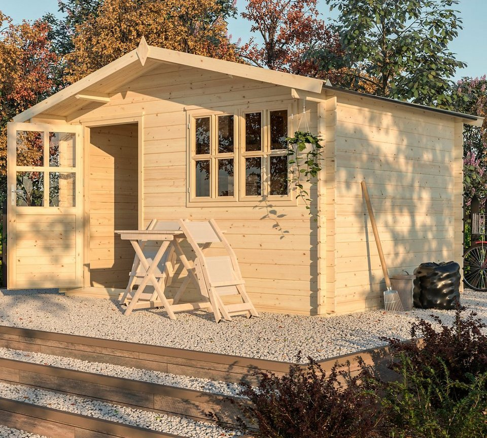 Nordic Holz Gartenhaus Modena Bxt 390x331 Cm Otto