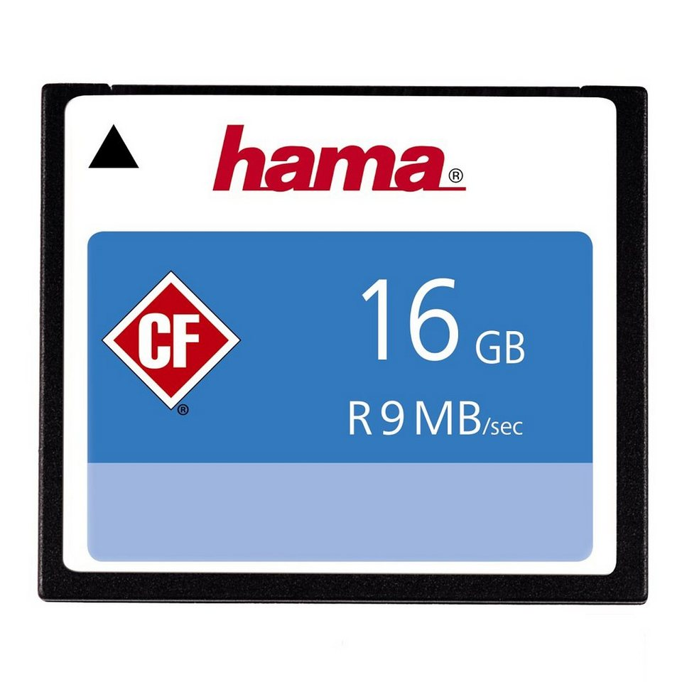 Hama, CompactFlash Card, »CompactFlash 16GB 9 MB/s« in Coloured