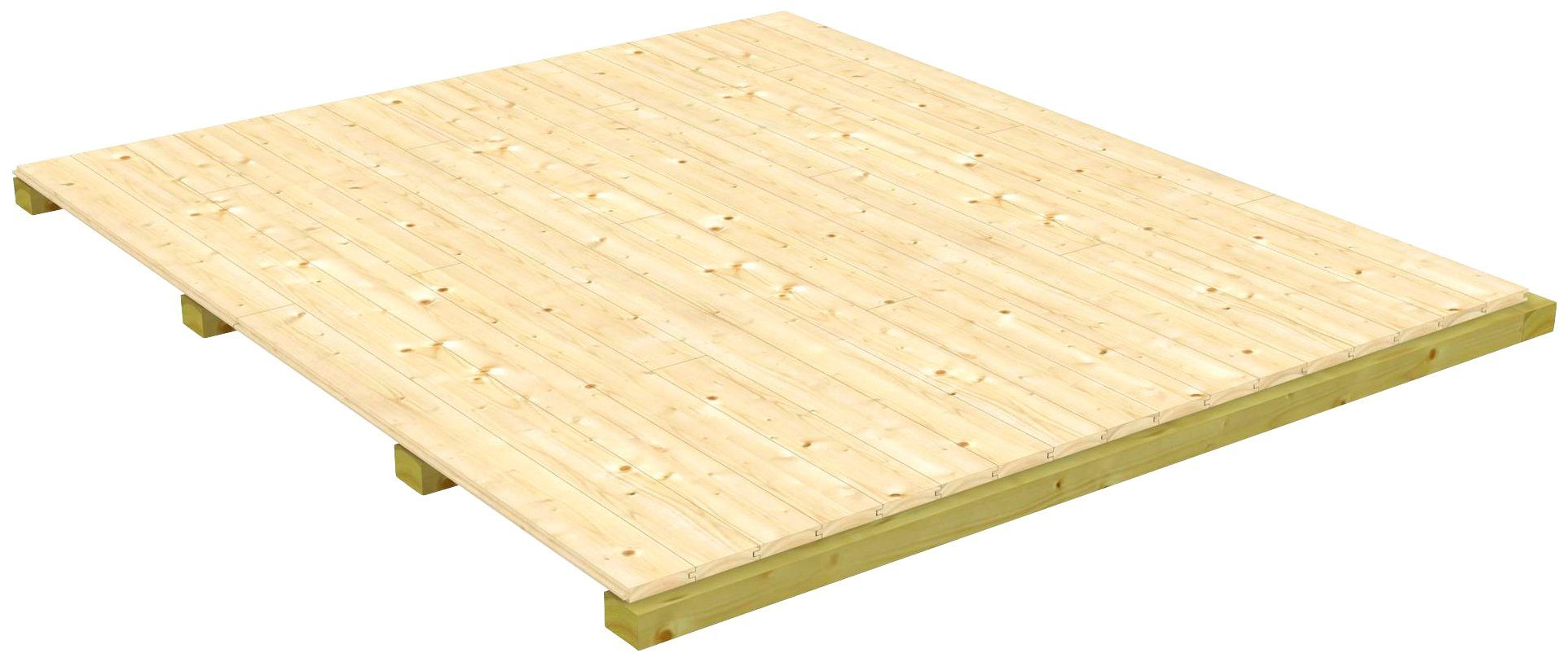 Fußboden für Gartenhäuser »Udo 380«, BxT: 477x377 cm
