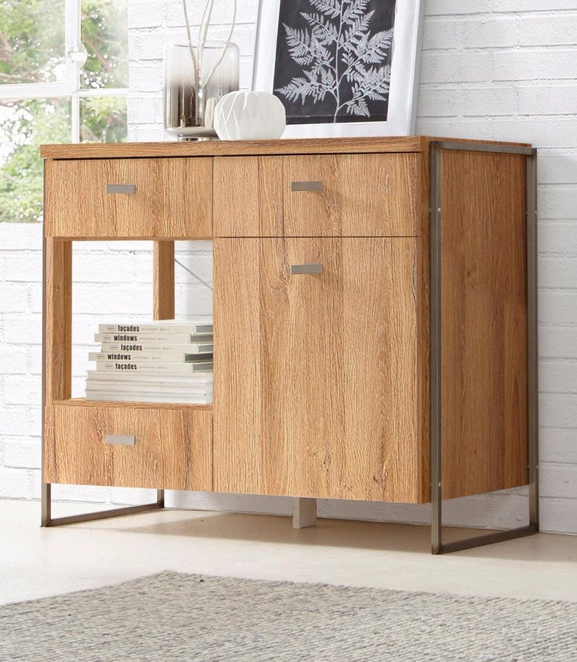 Attraktiv Kommode Industrial Style Foto Von Wood Cupboard Galleryn With Highboard Sideboard Frame