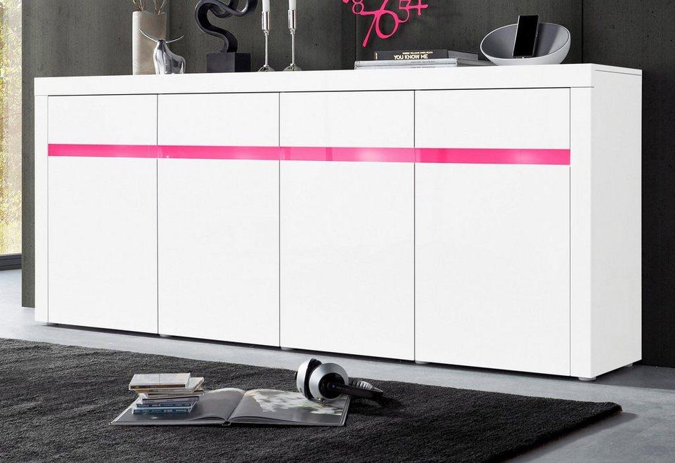 xxl sideboard breite 200 cm online kaufen otto. Black Bedroom Furniture Sets. Home Design Ideas
