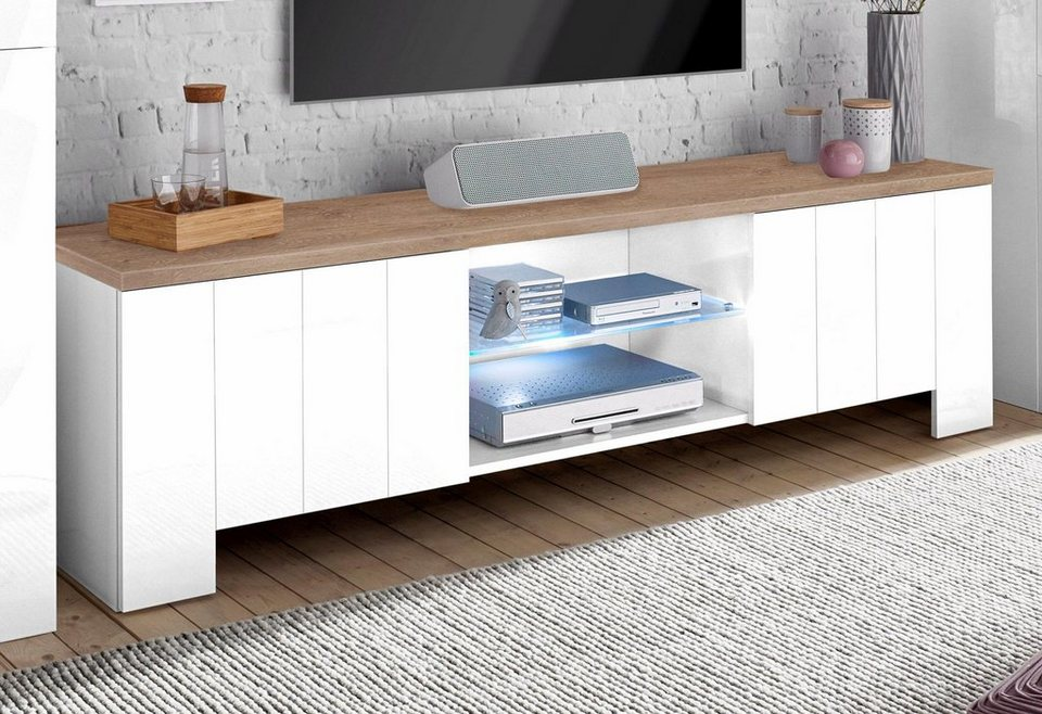 tecnos lowboard breite 180 cm online kaufen otto. Black Bedroom Furniture Sets. Home Design Ideas