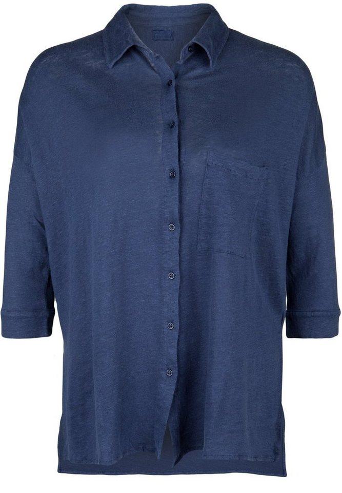 Blaumax Leinenbluse »COLUMBIA« in ink blue