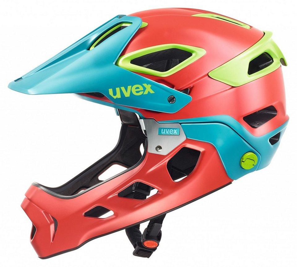 UVEX Fahrradhelm »jakkyl hde Helmet« in rot