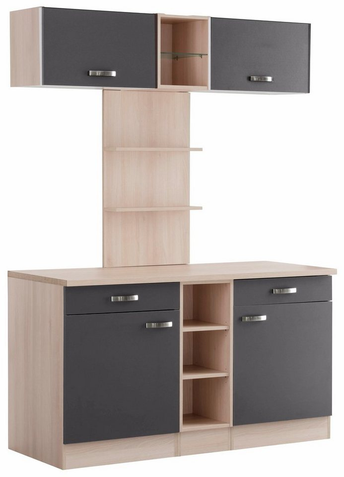 optifit k chenbuffet faro breite 150 cm kaufen otto. Black Bedroom Furniture Sets. Home Design Ideas