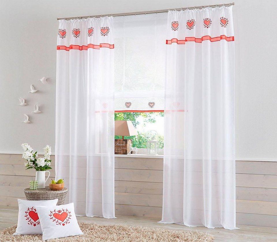 raffrollo tabor home affaire mit klettband otto. Black Bedroom Furniture Sets. Home Design Ideas